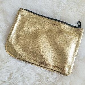 Marc Jacobs Metallic Gold Clutch